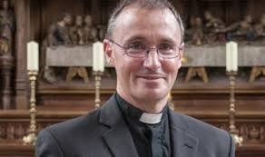 The Bishop of Grantham, Nicholas Chamberlain, who lies at the heart of the internecine controversy