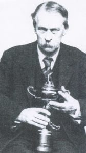 The seed merchant from St Alban's, Samuel Ryder, with his famous cup