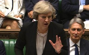 Theresa May concerned that Christians should not fear discussing their faith in public